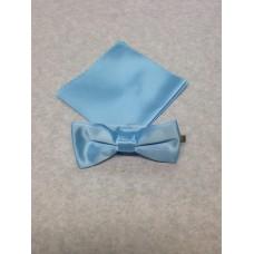 Fluga och näsduk till barn(Ljusblå) *FRI FRAKT*