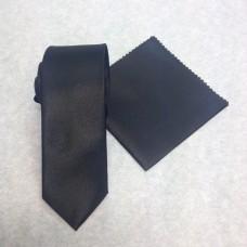 Smal svart slips(FRI FRAKT)