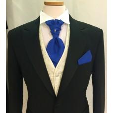 Plastrong till bröllop och fest((Royal) blå matt) *FRI FRAKT*