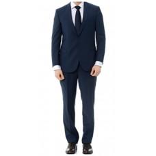 Kostym Klassisk passform marinblå
