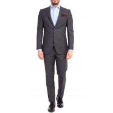 Kostym figursydd grå