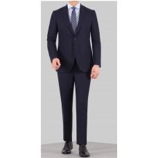 Svensk design figursydd kostym blå